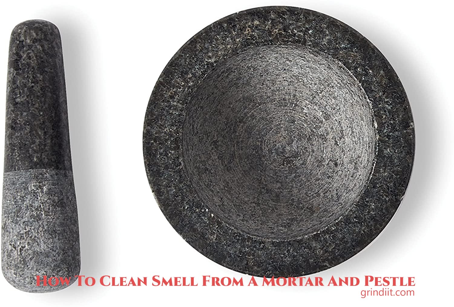 How To Clean Smell From A Mortar And Pestle