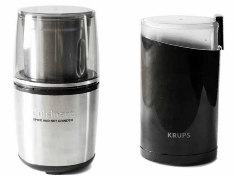 coffee grinder, can you grind spices in a coffee grinder, grind spices without grinder, america's test kitchen spice grinder, cinnamon grinder,