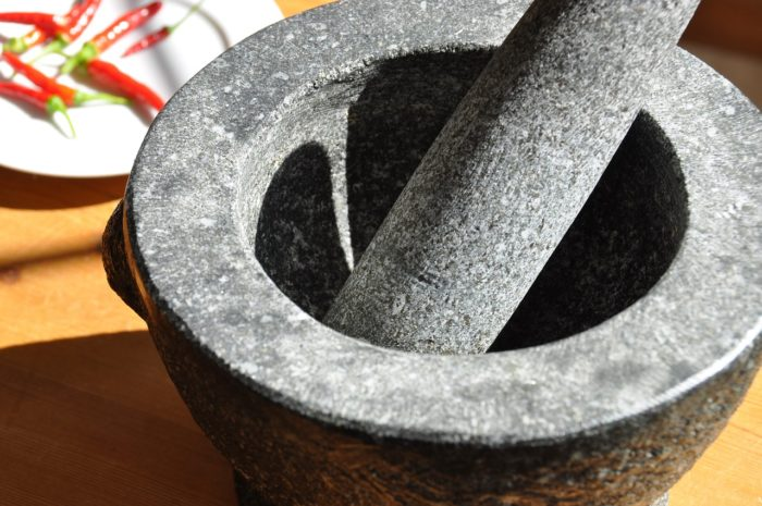 How to Clean a New Granite Mortar And Pestle