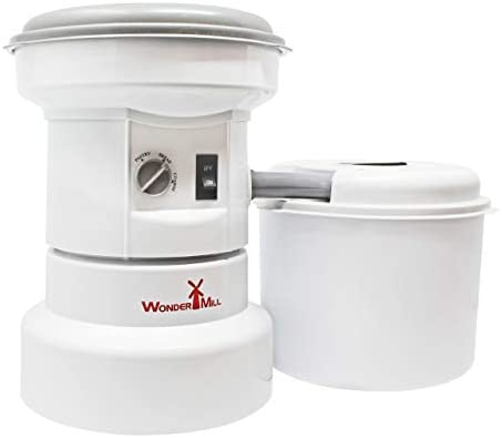 WonderMill's Powerful Electric Grain Mill Grinder for Home and Professional Use
