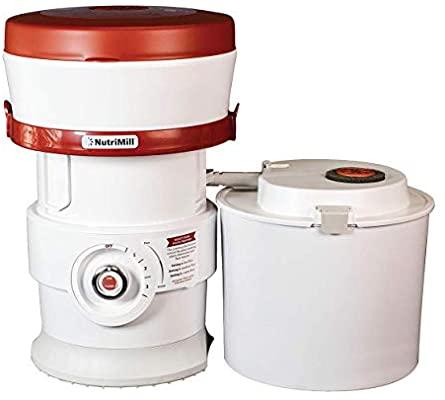 NutriMill Plus Grain/Flour Mill Electric High-Speed Grinder