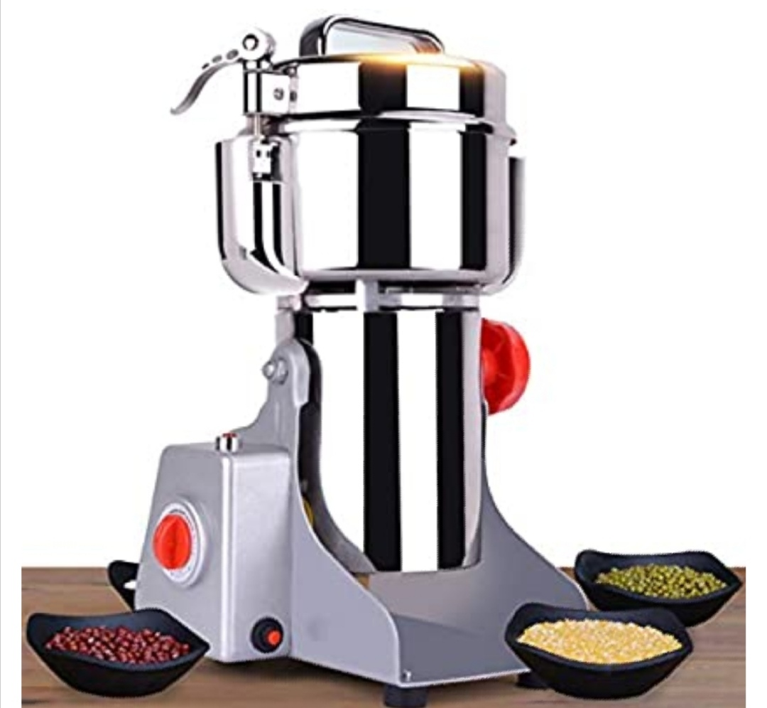 CGOLDENWALL Upgraded Electric Grain Grinder Mill High-speed Spice Herb Mill