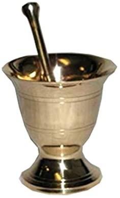 AzureGreen LMBS Mortar and pestle Brass - Small