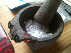 How to Season a Granite Molcajete